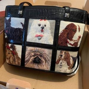 **SOLD** Brighton Doggie Diva embroider purse NWB